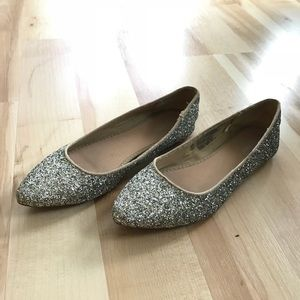 Super cute sparkly old navy flats